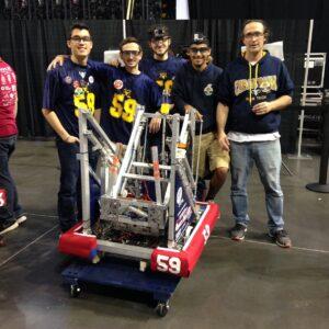 Ram Tech Team with Robot